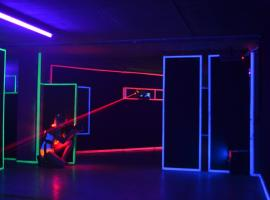 Laser game center Belgrade