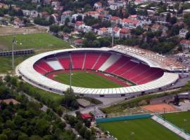 Brighten up your stag do with visiting Red Star Stadium