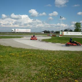 Go karting in Belgrad