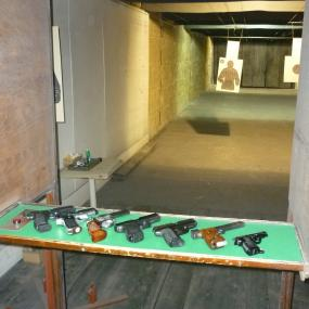 Shooting range in Belgrade